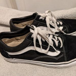 Vans Old Skool Skate Low Top Black Shoes